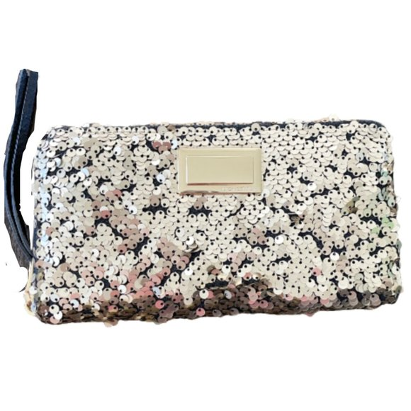 Juicy Couture Sequin Wristlet Wallet